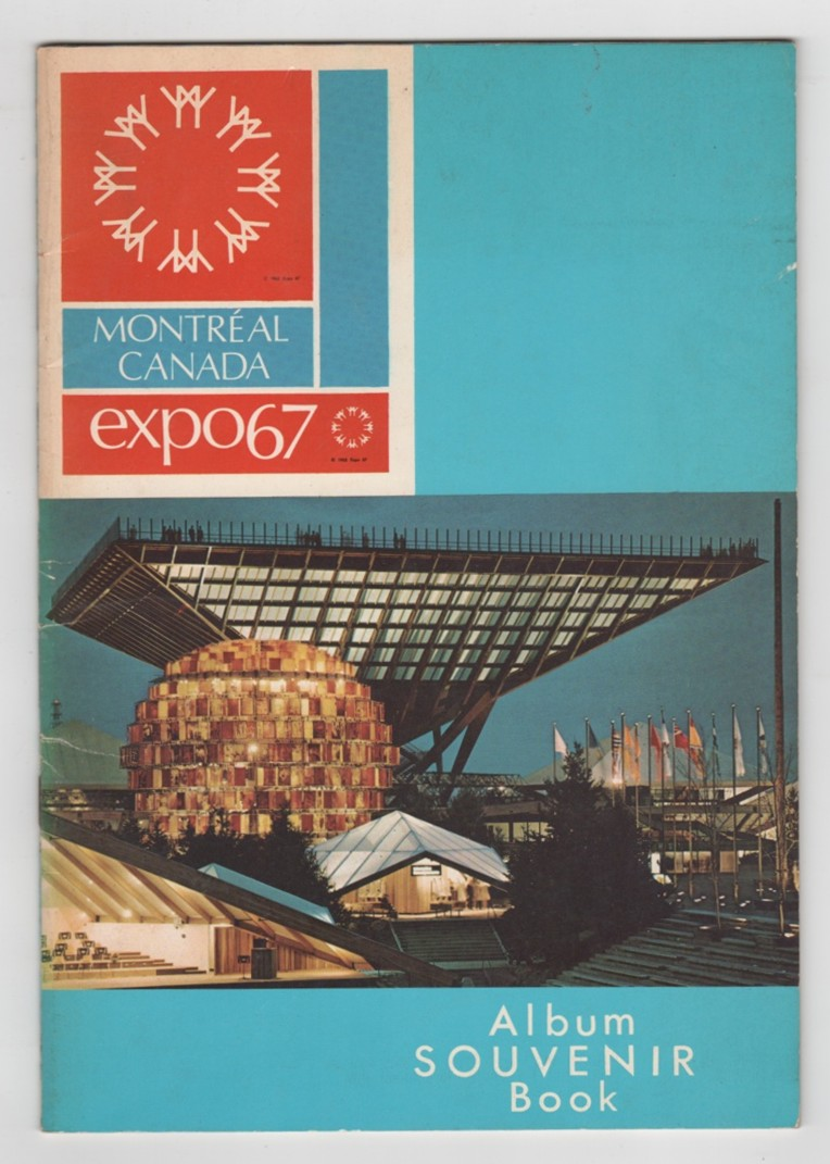 Image for Montreal, Canada  Expo67 Souvenir Album Book