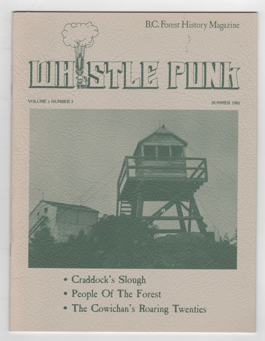 Image for Whistle Punk Volume 1 Number 3 Summer 1985