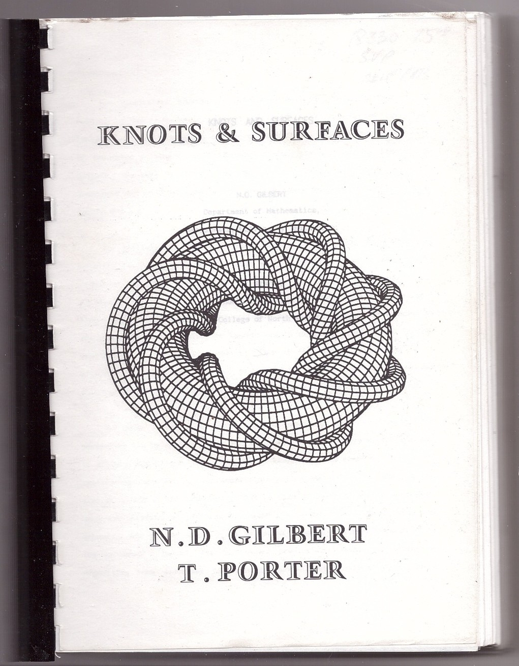 Image for Knots & Surfaces