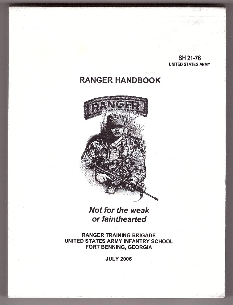 Image for Ranger Handbook Not for the weak or fainthearted