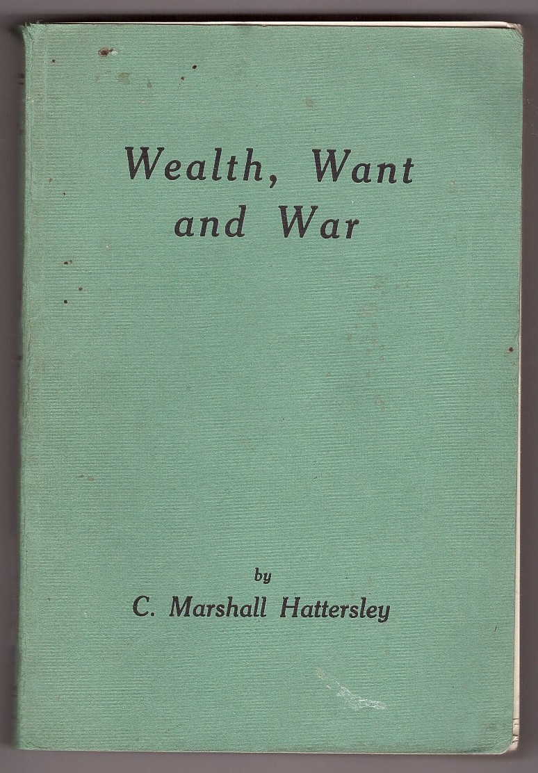 Image for Wealth, Want and War