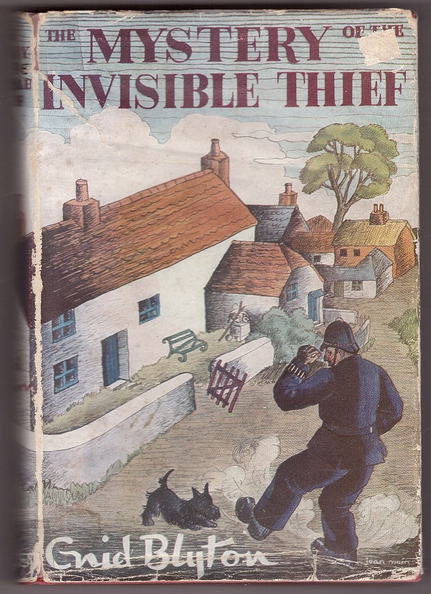Image for The Mystery Of The Invisible Thief Being The Eighth Adventure of the Five Find-Outers and Dog