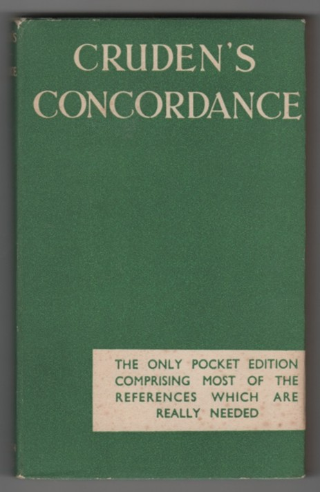 Image for Cruden's Useful Concordance of the Holy Scriptures