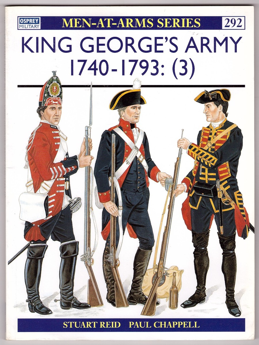 Image for King George's Army 1740 - 1993: (3)