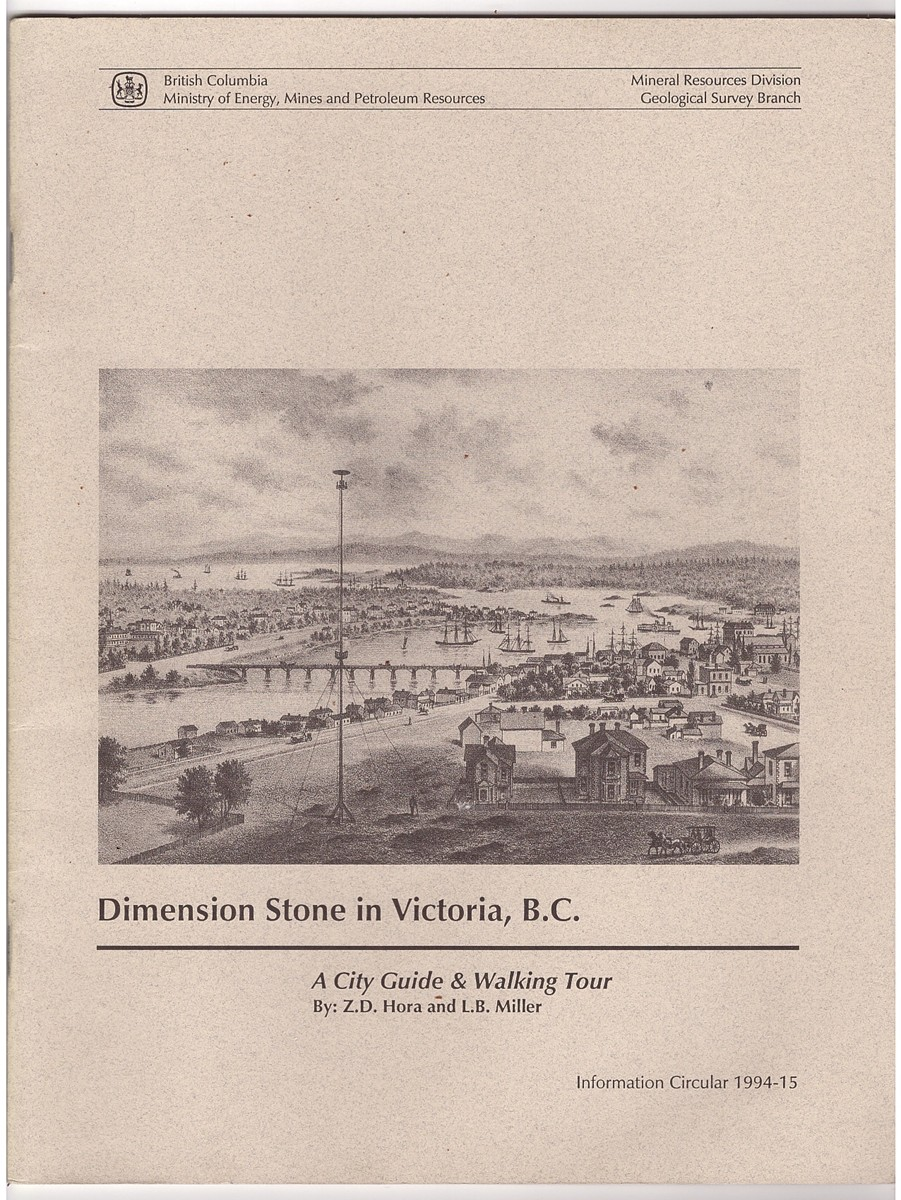 Dimension Stone in Victoria, B C  A City Guide and Walking Tour