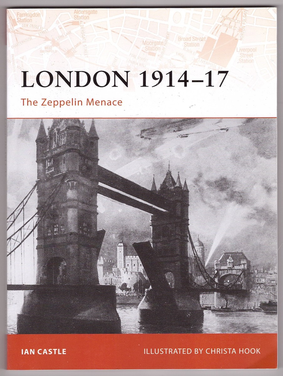 Image for London 1914–17 The Zeppelin Menace