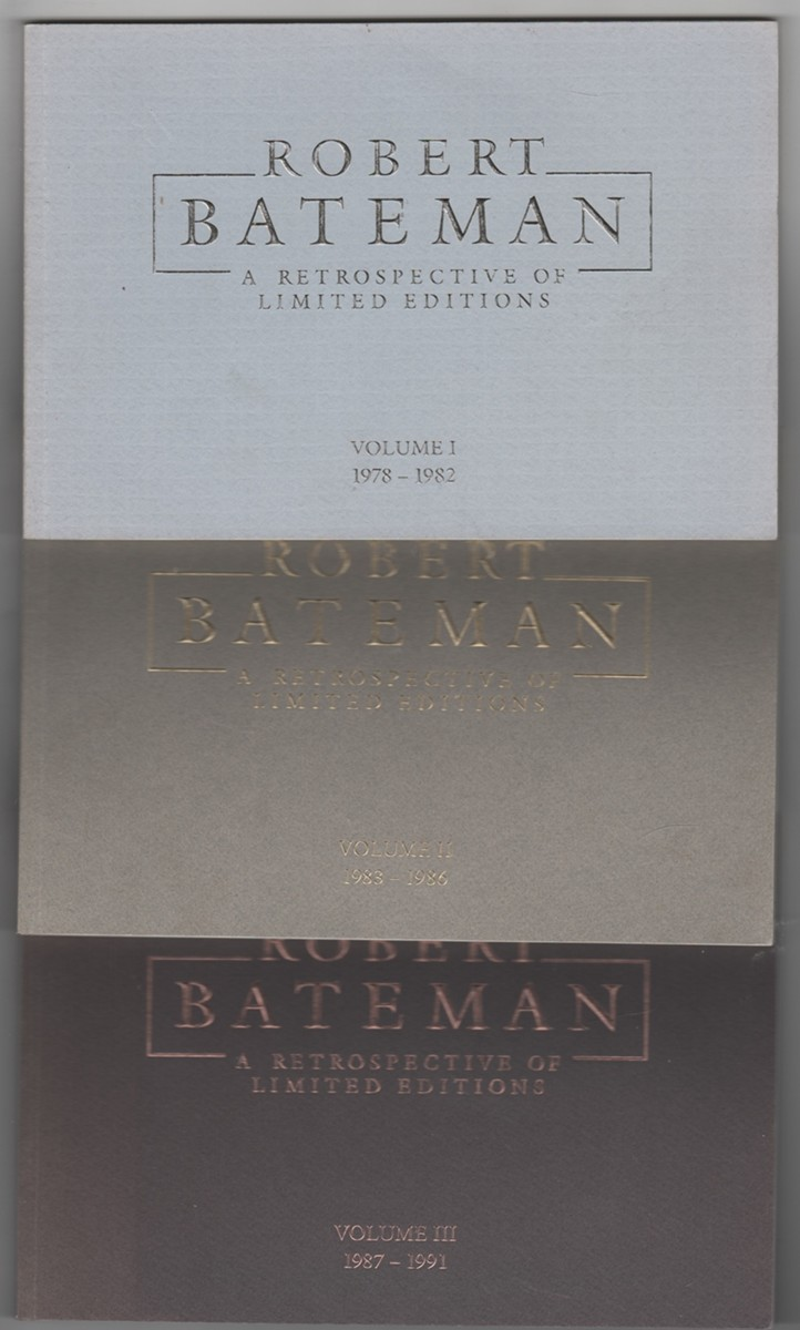 Image for Robert Bateman a Retrospective of Limited Editions; Vols. I, II & III 1978-1982, 1983-1986 & 1987-1991