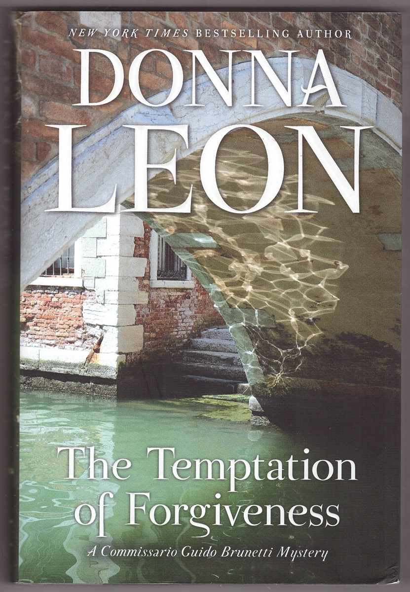 Image for The Temptation of Forgiveness A Commissario Guido Brunetti Mystery