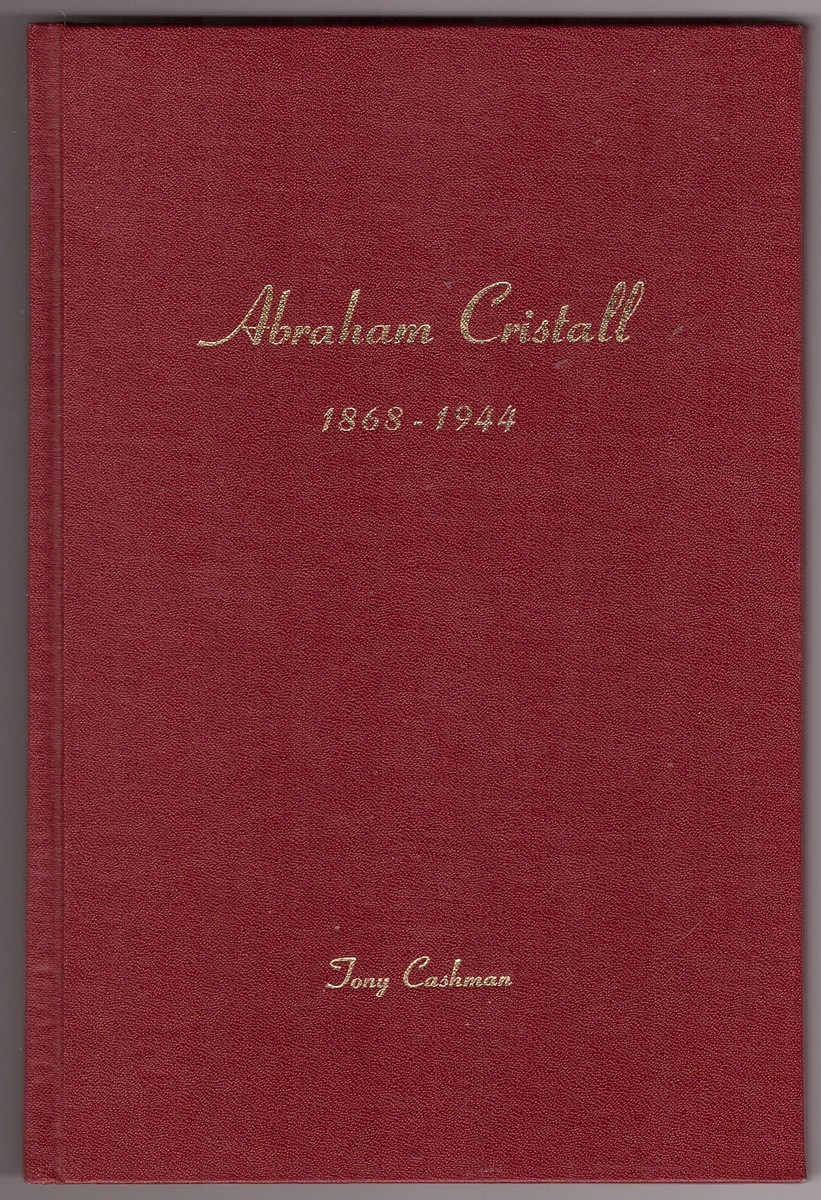 Image for Abraham Cristall The Story of a Simple Man