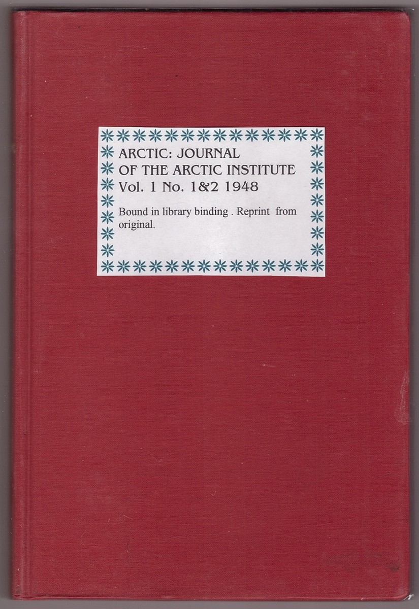Image for ARCTIC, VOLUME 1, ISSUES NO. 1 & 2