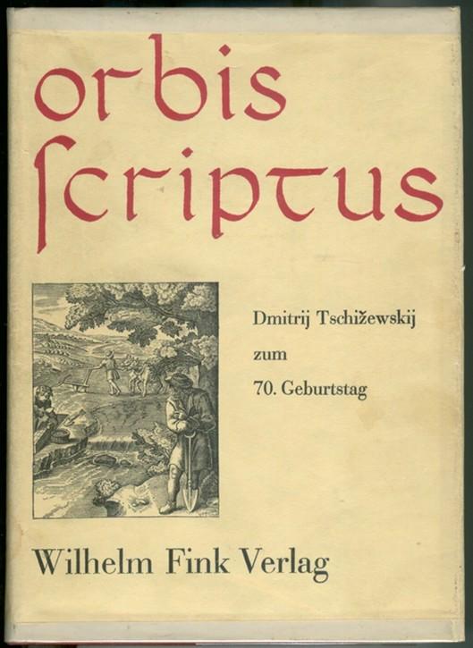 Image for ORBIS SCRIPTUS