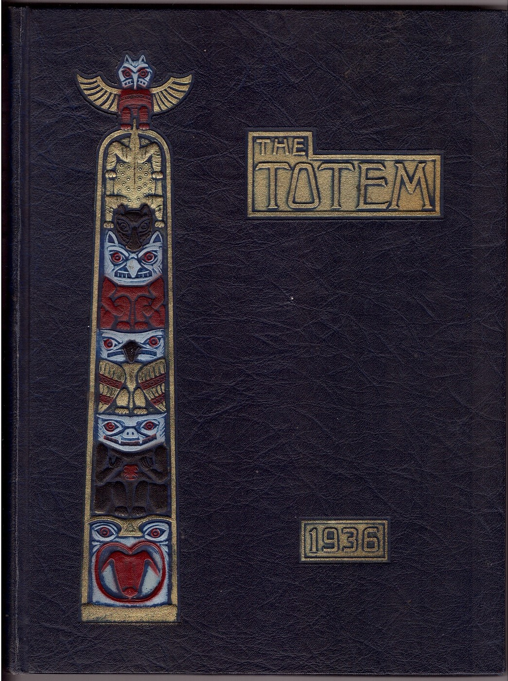 Image for THE TOTEM 1936 ANNUAL