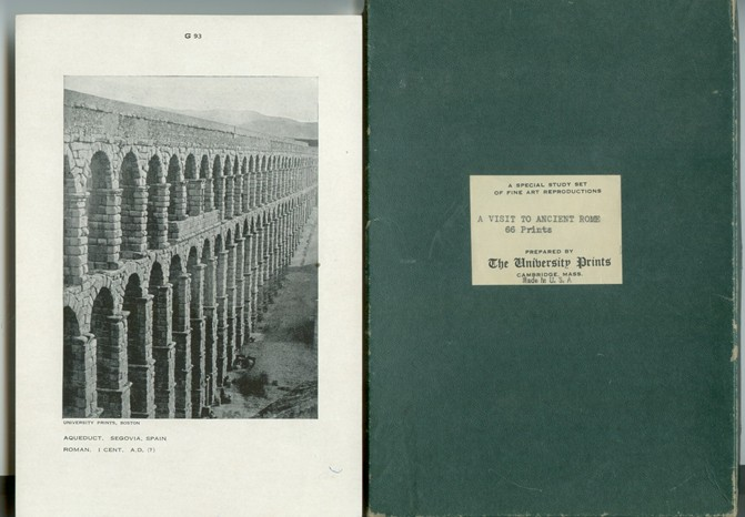 Image for A VISIT TO ANCIENT ROME - A COLLECTION OF 66 PRINTS