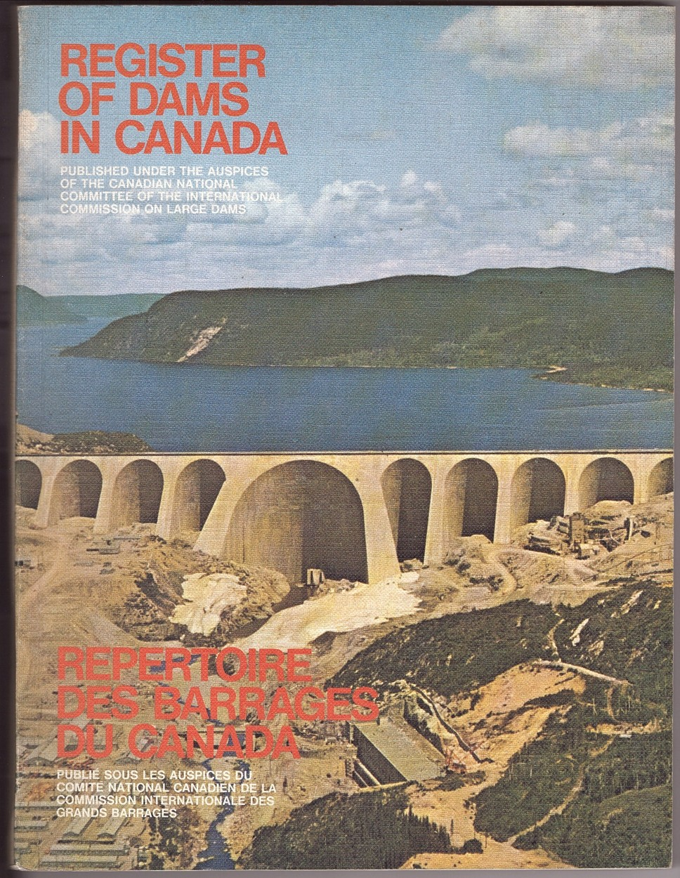 Image for Register of Dams in Canada 1970