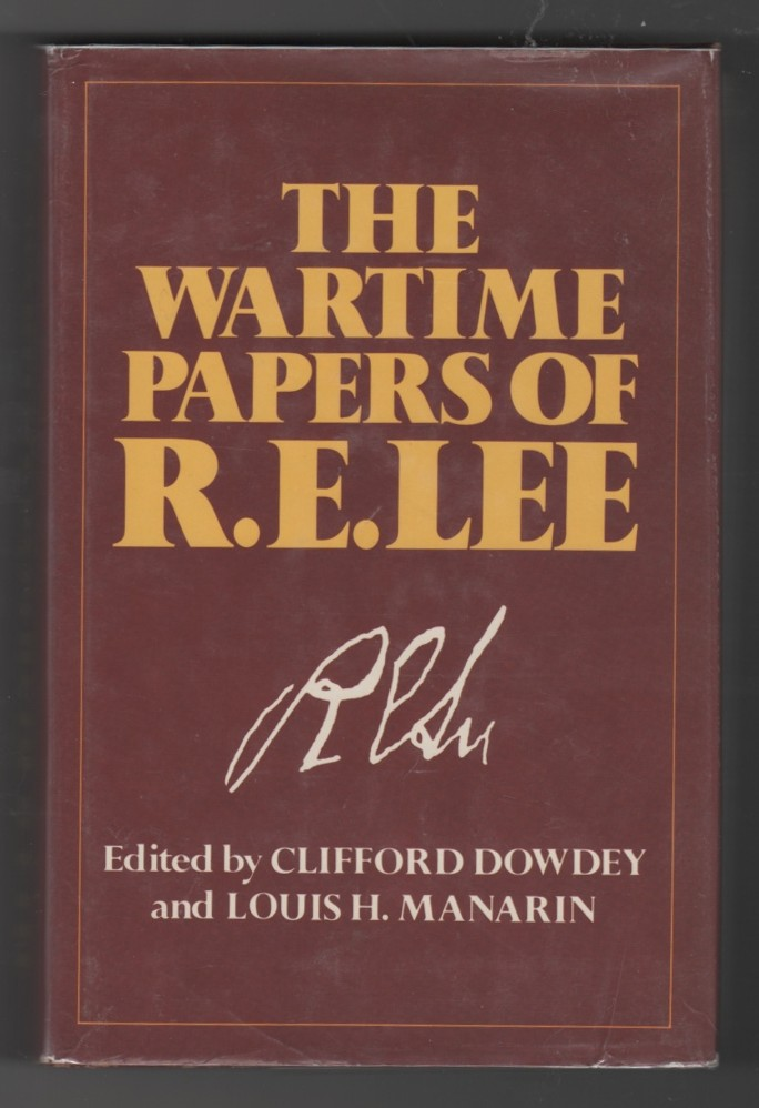 Image for The Wartime Papers of R.E. Lee